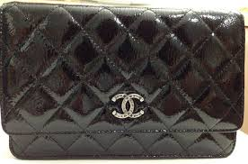 Chanel Quilted Wallet on Chain in Patent | Bragmybag & Chanel-Quilted-WOC-in-Patent Adamdwight.com