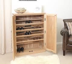 furniture shoe storage. Conran Solid Oak Furniture Large Hallway Shoe Storage Cupboard Rack