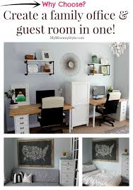 guest bedroom and office. A Family Office And Guest Room In One! Home That Functions As Bedroom R