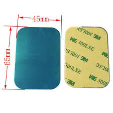 <b>100pcs</b>/lot 65mmx45mm <b>Metal</b> Plate disk iron sheet for Magnet ...