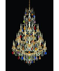 wonderful chandelier crystals for colored chandelier crystals gold chandelier with colorful crystal 14