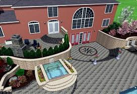 Small Picture 3d Garden Design Software Exterior Home Decorating Anlage Imanada