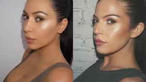 kim kardashian west bronze makeup tutorial