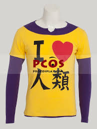 Procosplay Size Chart No Game No Life Brother Sora Cosplay Shirt Mp002469