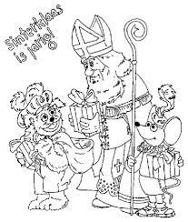 Moeilijke Kleurplaat Sint Kids N Fun 38 Kleurplaten Van Sinterklaas