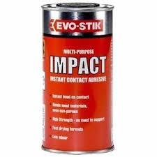 evo stik multi purpose impact instant contact adhesive ml image is loading evo stik multi purpose impact instant contact adhesive