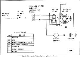 circuit car wiring diagram page 70 electric folding top wiring circuit of 1966 corvair