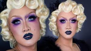 1920s flapper drag makeup tutorial