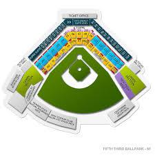Explicit Fifth Third Field Dayton Seating Chart Ironbirds