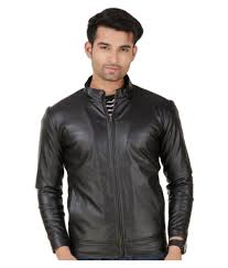leather retail black leather jacket