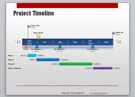 Microsoft Office Timeline Templates Microsoft Office Timeline