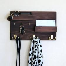 ready to ship entryway organizer mail and key holder coat rack for mail and key rack plan interior key wall