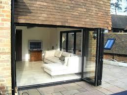 good folding glass patio doors for bi fold glass patio doors gallery doors design ideas bi