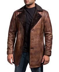 cinnamon fur trench coat