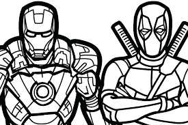 Deadpool Coloring Book Coloring Pages Coloring Book Packed With