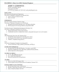 Sample Chemistry Resume Best Of Sample Chemical Engineering Resume Chemical Engineering Resumes