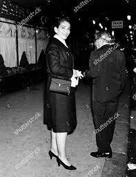Maria Callas Aristotle Onassis Redaktionelles Stockfoto – Stockbild