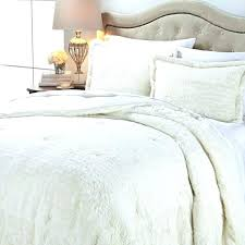 faux fur bedding sets comforter set king best home images on concierge and cozy for white faux fur bedding sets
