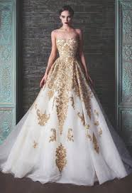 chic gold wedding dresses 1000 ideas about gold wedding dresses on