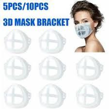 3D Face Mask Bracket Protect Lipstick Inner Support Holder ... - Vova