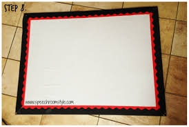 incredible bulletin board border idea clroom fabric covered sch room style step 8 amazon design target