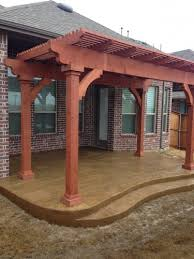wood patio covers fencing argyle tx