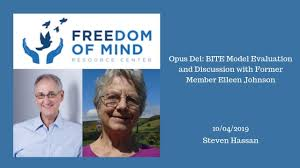 Opus Dei: BITE Model Evaluation and Discussion with Former Member Eileen  Johnson - Freedom of Mind Resource Center