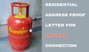 Residential Address Proof Letter Format For Gas Connection
