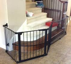 Custom Extra Wide Large Child Baby Safety Gate Installation   Baby ...