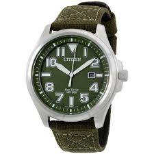 citizen men s watch green dial stainless steel case movement citizen aw1410 16x eco drive military mens watch green dial stainless steel case eco drive movement