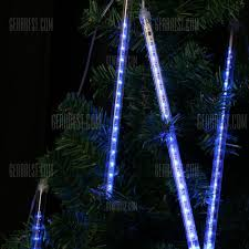 Commercial Snowfall Led Lights Finether 13 1 Ft 8 Tube 144 Led Meteor Shower Rain Snowfall Plug In String Lights For Holiday Christmas Halloween Party Indoor Outdoor Decoration