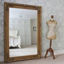 Grand Silver Or Gold Full Length Dressing Mirror