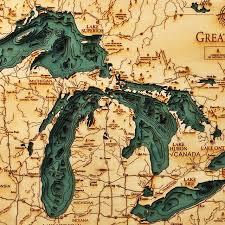 Lake Michigan Bathymetry Chart Pin On Fabrication Materials Details