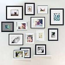 picture frames on wall. Real Simple® Wall Frame Collection Picture Frames On C