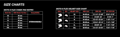 Bell Moto 8 Size Chart Bell Moto 9 Flex Off Road Motorcycle Helmet Fasthouse Wrwf Matte Gloss Black White Red Large
