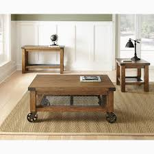rustic coffee table on wheels practical coffee table caster coffee tables hayneedle glass with wheels