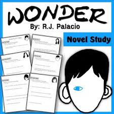wonder r j palacio novel study questions prehension crticial thinking etc