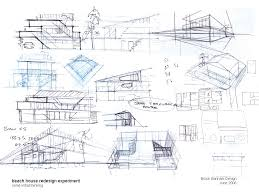 Interior Design Floor Plan Sketches  carldrogo combeach house sketches copy
