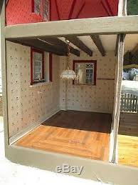 turntable furniture. Vintage Hand Made Doll House W Electric On Turntable + Furniture Folk Art T