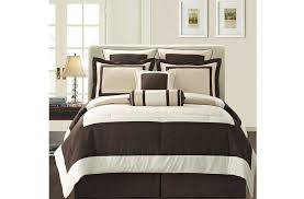 king size duvet covers brown and white colors