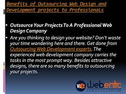 Outsource Web Design And Development Ppt Top Outsourcing Web Design And Development