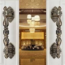 antique looking door knobs. 350mm Vintage Europen Style Door Handle Antique Brass Glass Wood Big Gate Handles Bronze Hotel KTVHome Hardware Handle-in Cabinet Pulls From Home Looking Knobs