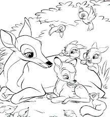 Bambi Da Colorare Colorareploofr