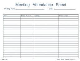 Meeting Attendance Sheet Template Meeting Attendance Sheet Template Charlotte Clergy Coalition