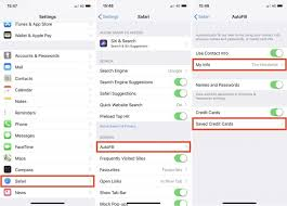 Personal Info Cards How To Use Icloud Keychain On Your Ios Devices Macrumors