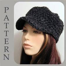 Crochet Newsboy Hat Pattern Extraordinary Crochet Newsboy Hat Pattern Free Free Easy Crochet Patterns