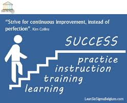 Improvement Quotes 21 Inspiration Continuous Improvement Quotes Lean Six Sigma Belgium