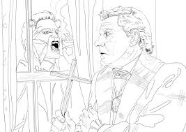 fright night coloring book exle