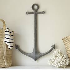 metal anchor wall decor on metal beach theme wall art with 16 best achromatic color images on pinterest home ideas anchor