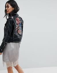 日本未入荷 ライダース 黒 新作 ブランド インポート reclaimed vintage revived leather biker jacket リクレイムド